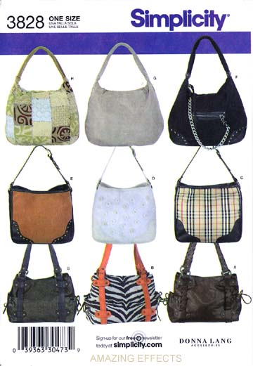 Simplicity pattern # 3828 is new. Retail is $15.95. Stored and shipped